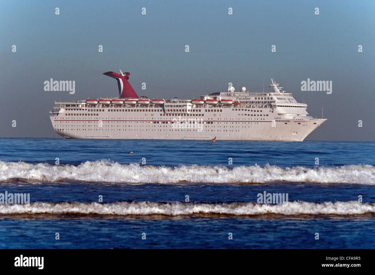 Cruise Ship Crashing Wave Ensenada Baja California Mexico - Cruise to ensenada