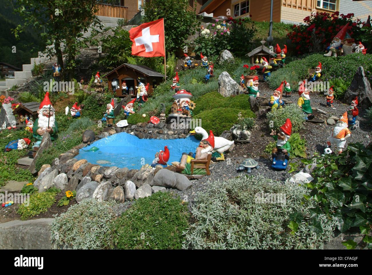 Garden Gnomes Garden Stock Photos & Garden Gnomes Garden Stock ...