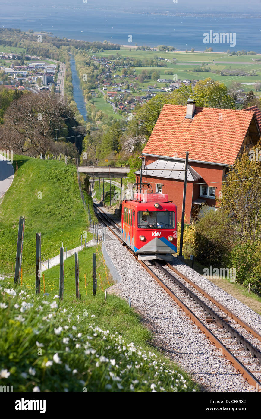 Town City canton St Gallen St Gall Switzerland Europe road
