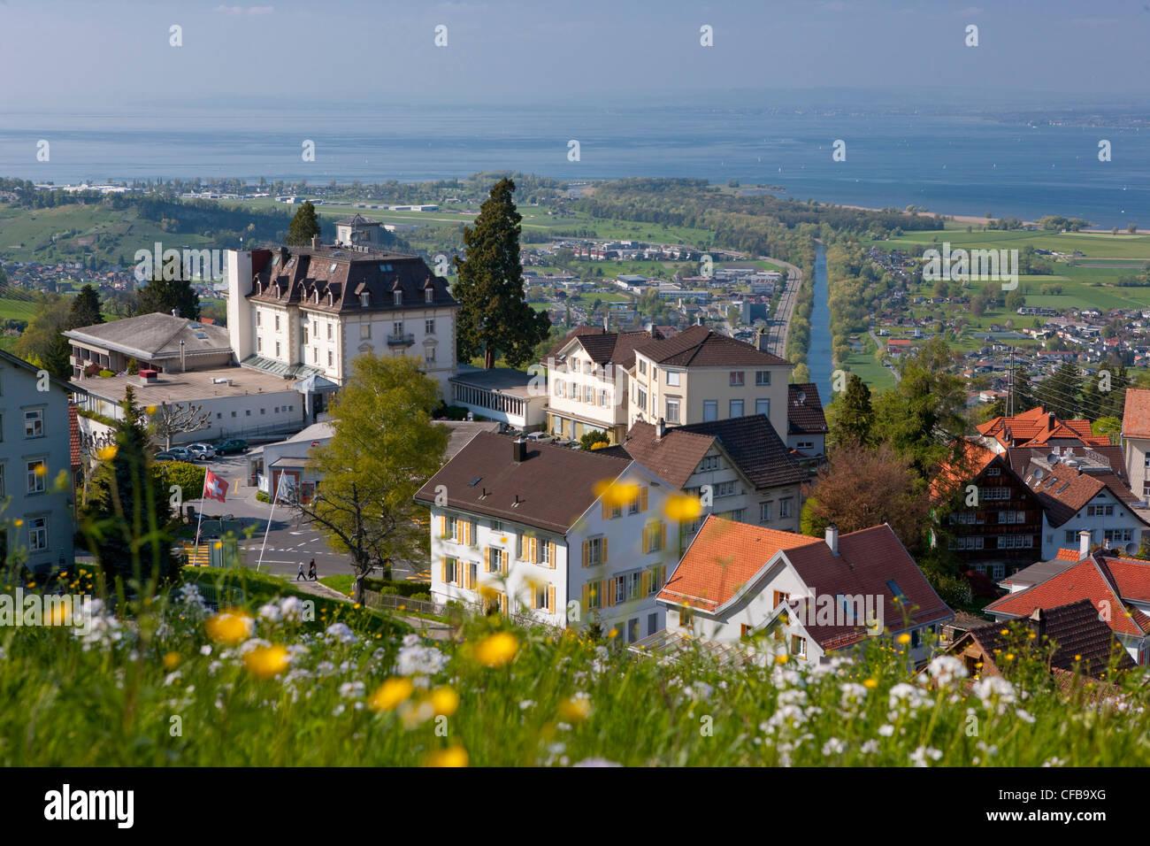 Town City canton Appenzell Switzerland Europe Ausserrhoden