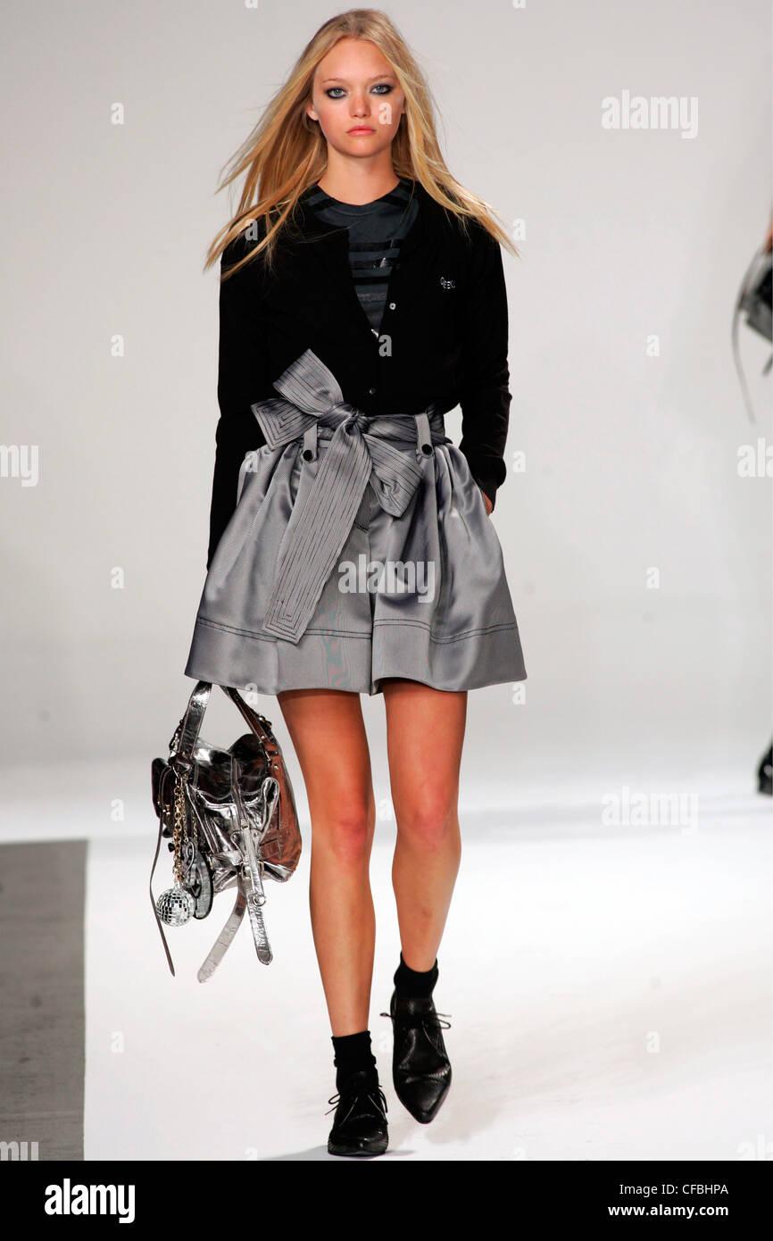 Модели серой юбки