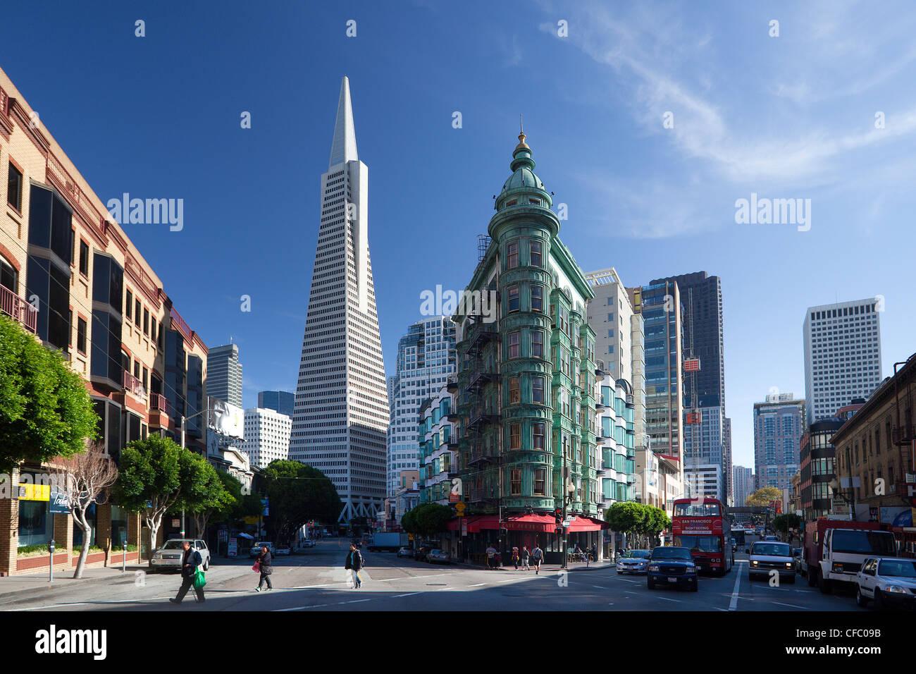 USA, United States, America, California, San Francisco, City Stock ...