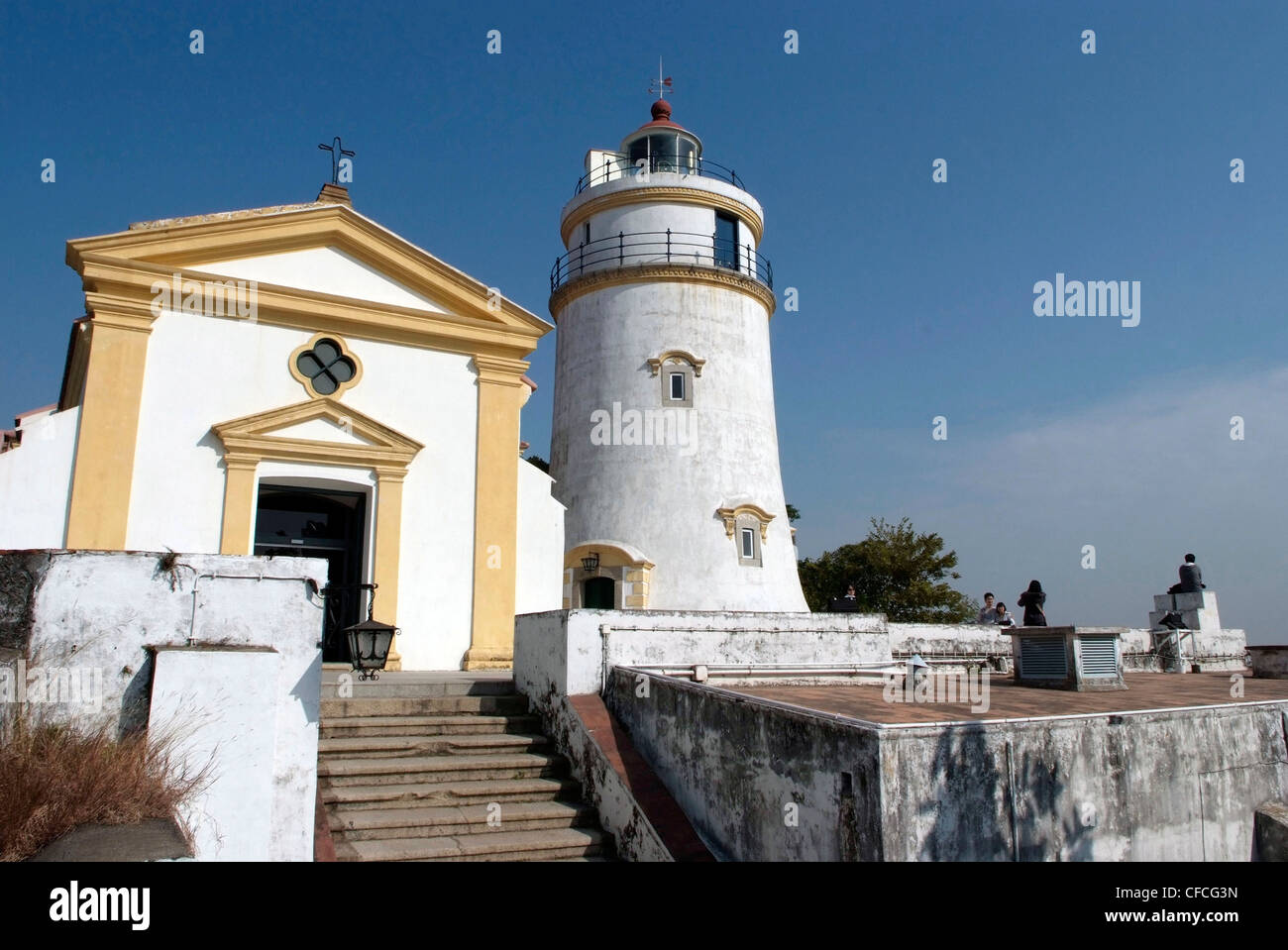 CHINA MACAU SAR Guia Fortress And Lighthouse Macau World - Where is macau in the world