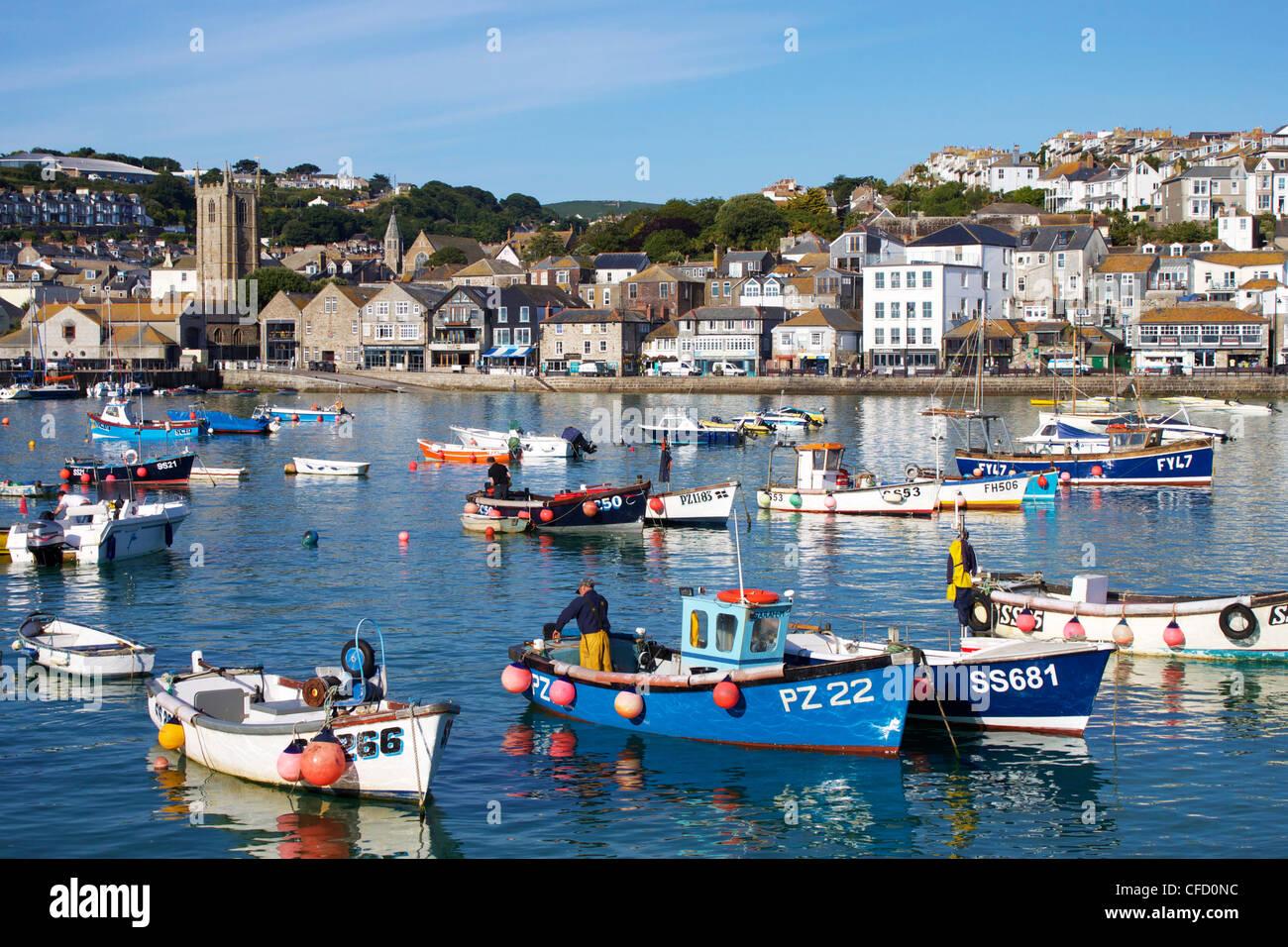 Saint Ives (Cornwall) United Kingdom  City new picture : St. Ives, Cornwall, England, United Kingdom, Europe Stock Photo ...