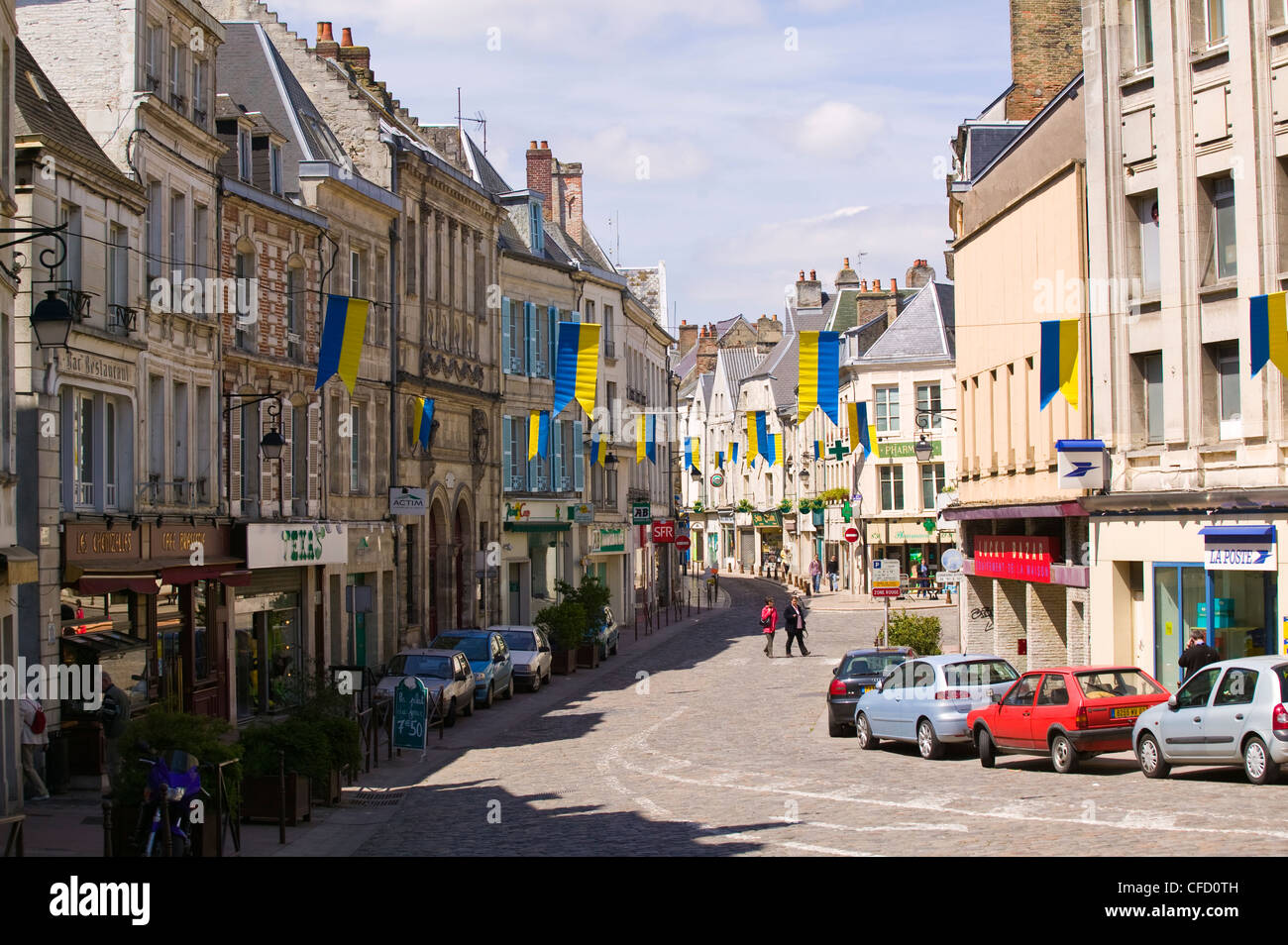 laon aisne picardie france stock photo royalty free image