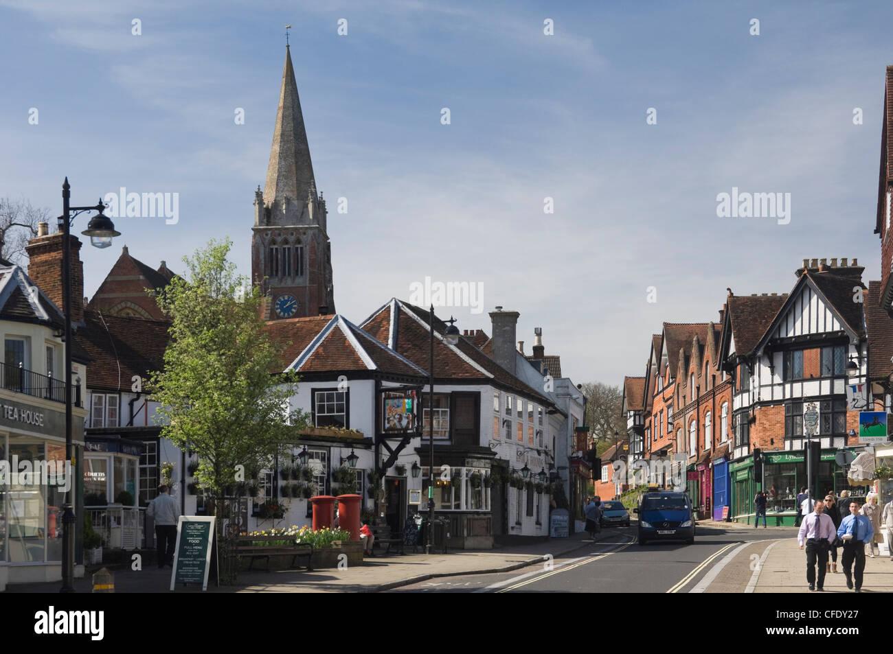 Lyndhurst United Kingdom  city images : ... , Lyndhurst, New Forest, Hampshire, England, United Kingdom, Europe