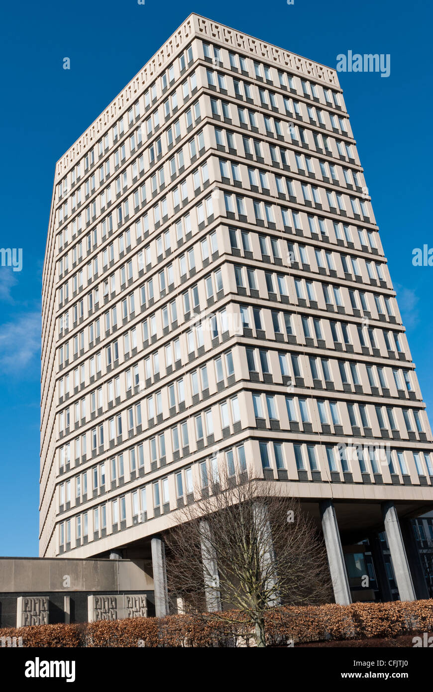 Eagle Tower in Cheltenham, the former administrative head office ...