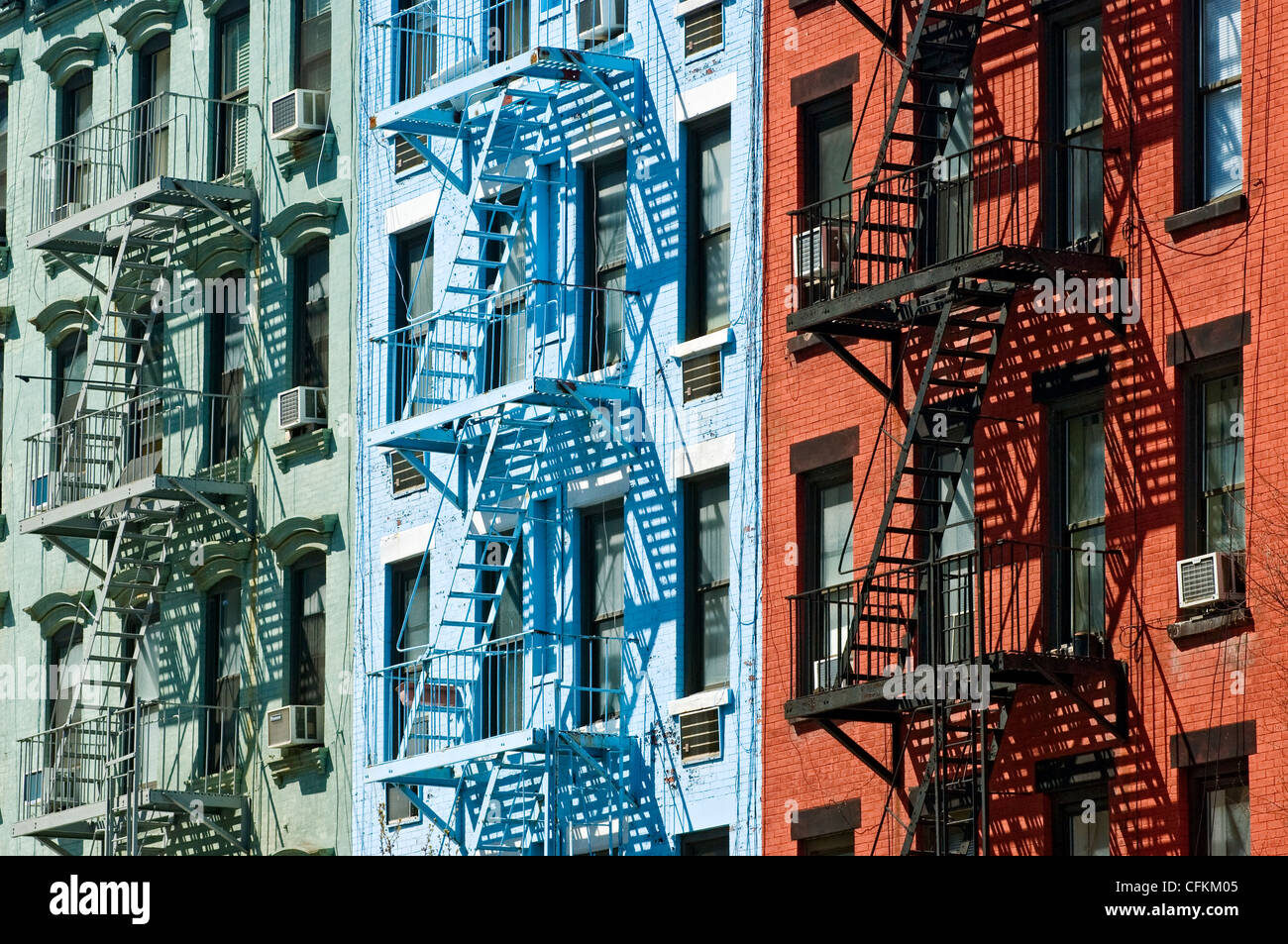 brick apartment buildings stock photos & brick apartment buildings