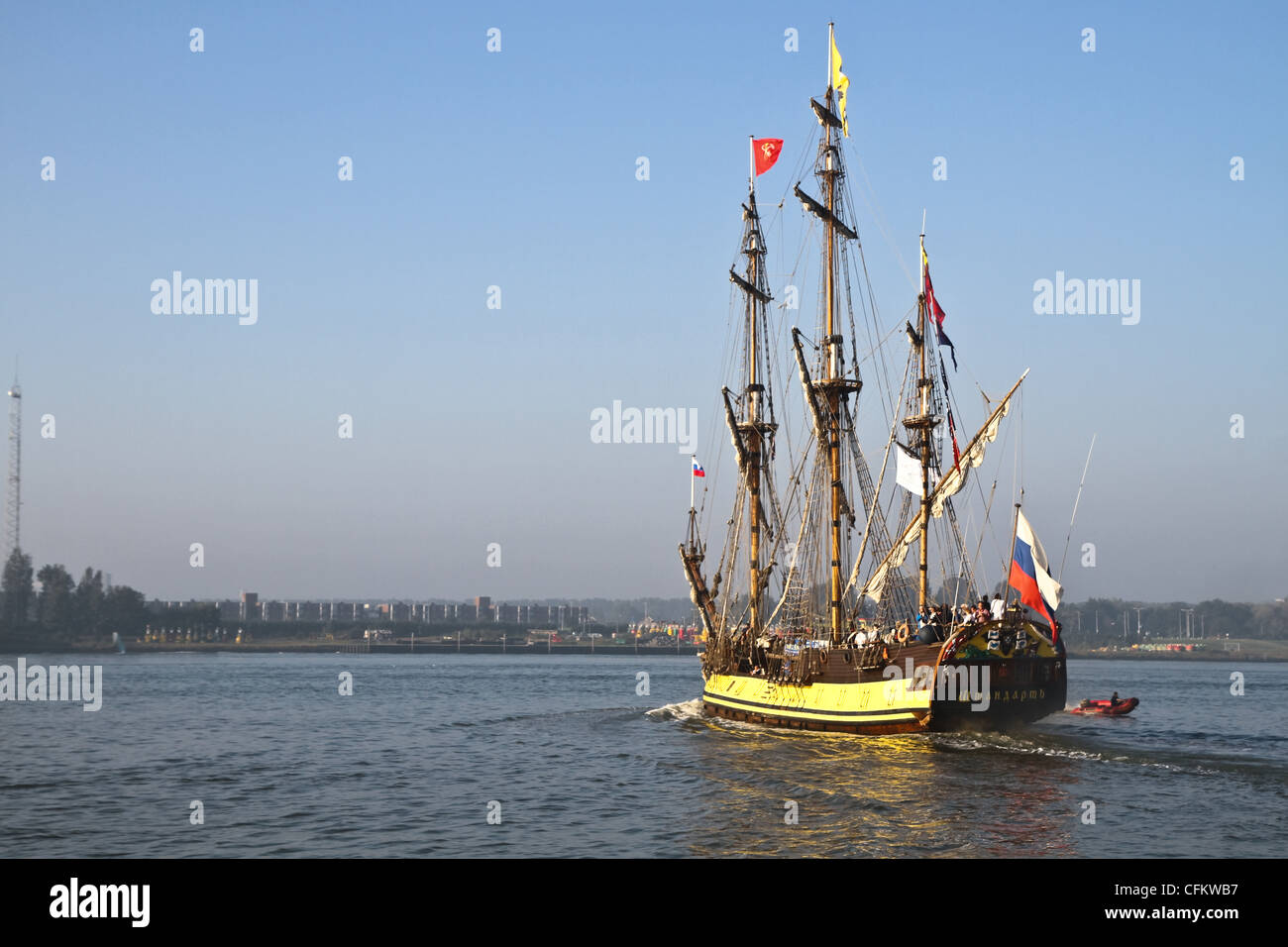Frigate Shtandart - Russian replica of old warship ...