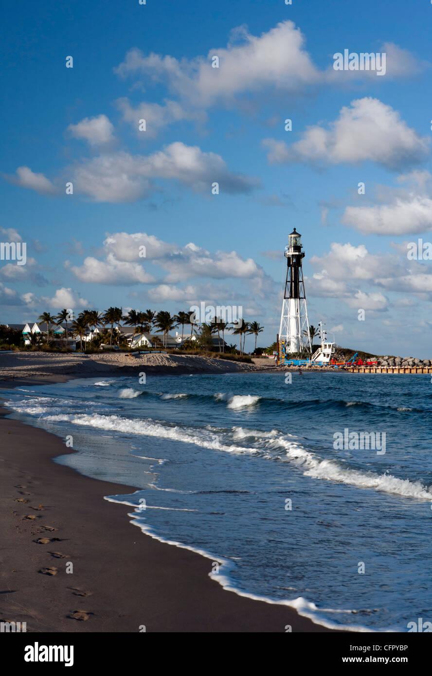 Hillsboro inlet lighthouse pompano beach florida usa stock photo hillsboro inlet lighthouse pompano beach florida usa geenschuldenfo Images
