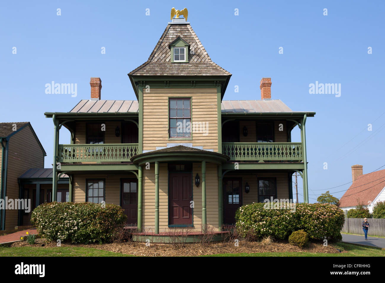 Historic homes of navy point st michaels maryland for Maryland home builders