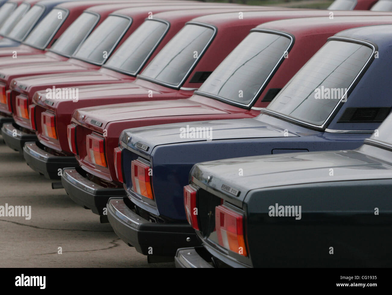Brand new russian cars Lada ready for sale. Lada (Zhiguli) is an ...