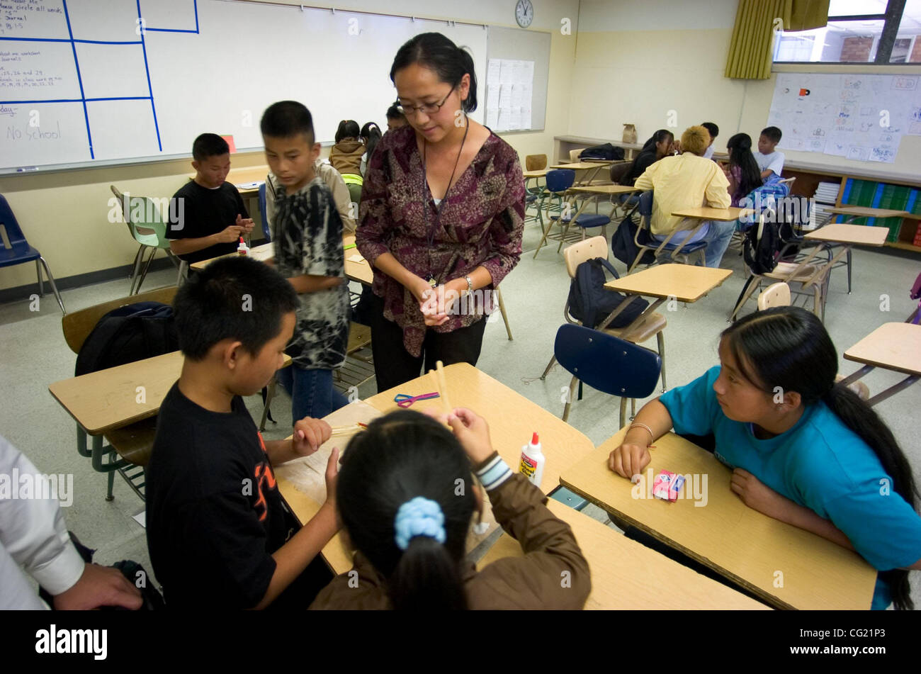 goethe junior high summer school teacher susan lee center leads