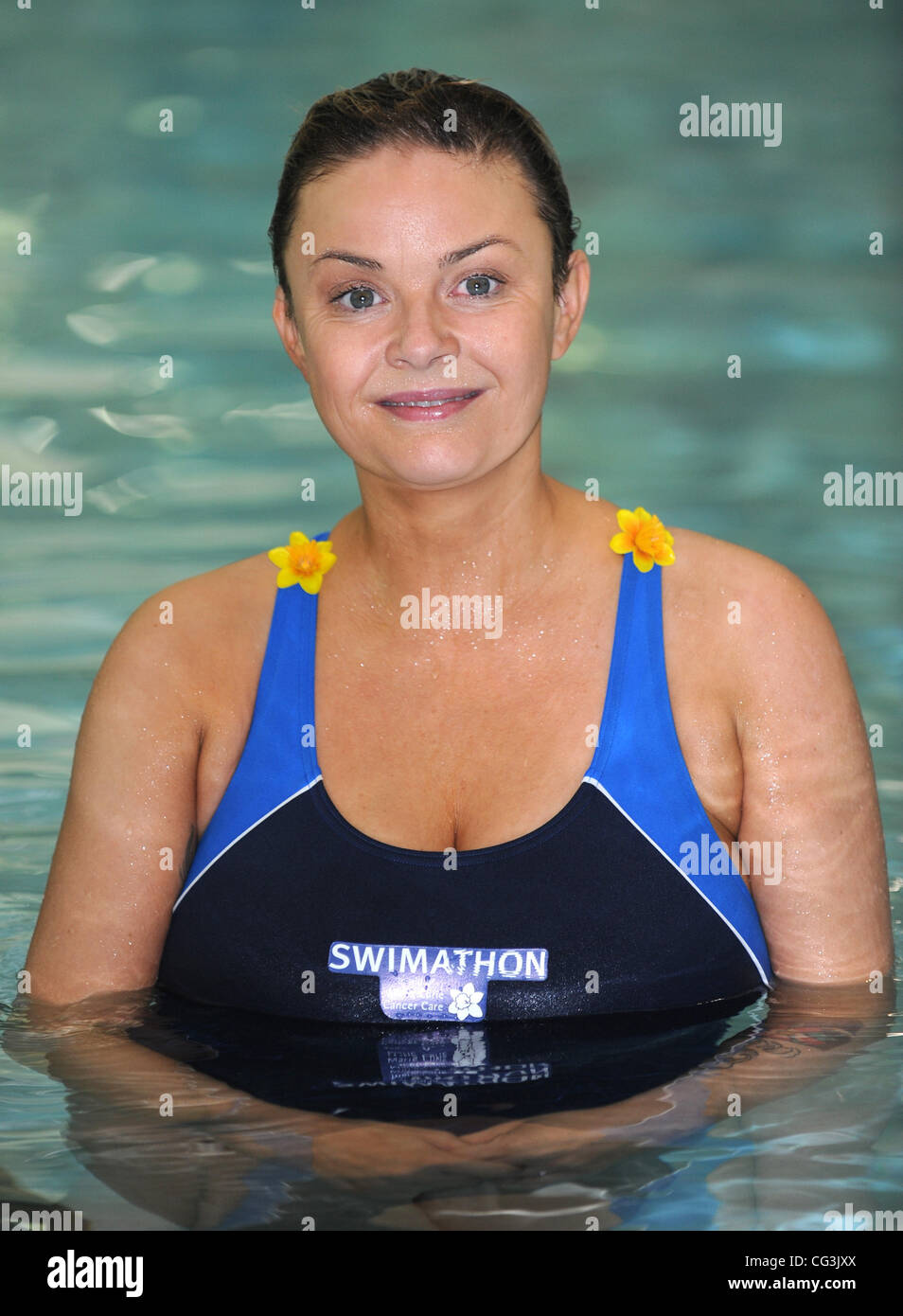 Gail Porter The launch of Swimathon 2011 - The world's ...