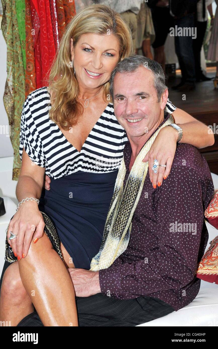 Jennifer Hansen And Alan Fletcher Img Tennis Players Party Held At ...