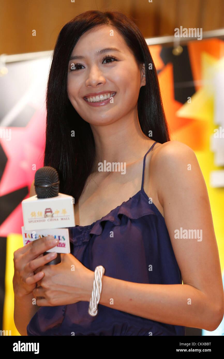 August 25, 2012 - Toronto, Canada - Hong Kong TVB actress ...