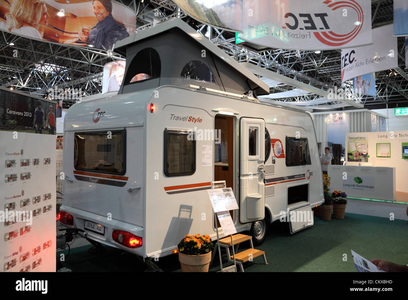 duesseldorf august 27 t e c travel style mobile home. Black Bedroom Furniture Sets. Home Design Ideas