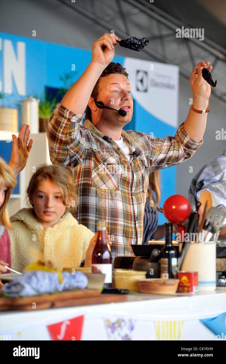 Food Festival Oxfordshire Jamie Oliver