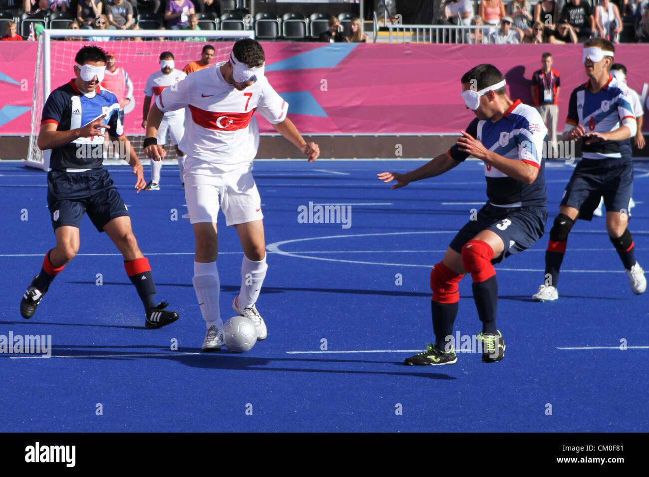 London, UK. 8th September 2012. 08.09.2012 London, England. Men\'s 5 ...