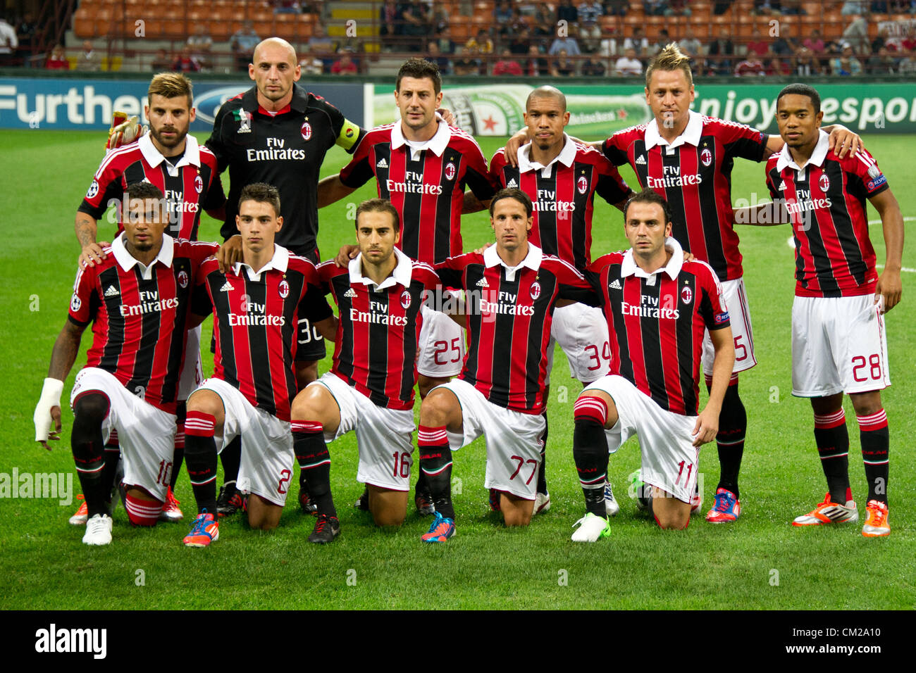 Ac milan football club players pictures to pin on for Ac milan club