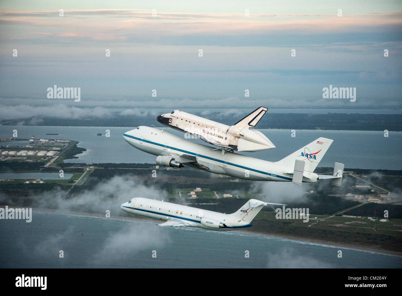 Space Shuttle Endeavour Is Ferried By NASAs Shuttle Carrier - Cape canaveral tours