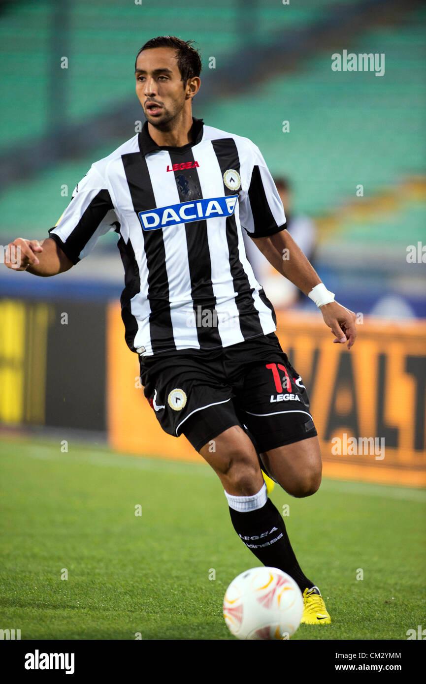 Mehdi Benatia El Moutaqui Udinese September 20 2012 Football