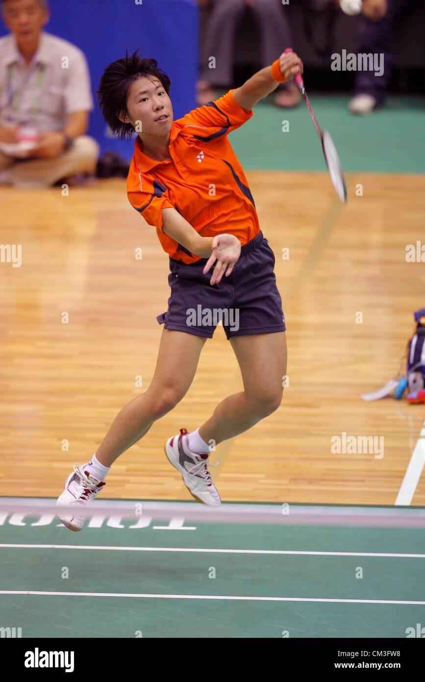 Sayaka Sato Tokiwagi Gakuen AUGUST 2 2008 Badminton 2008