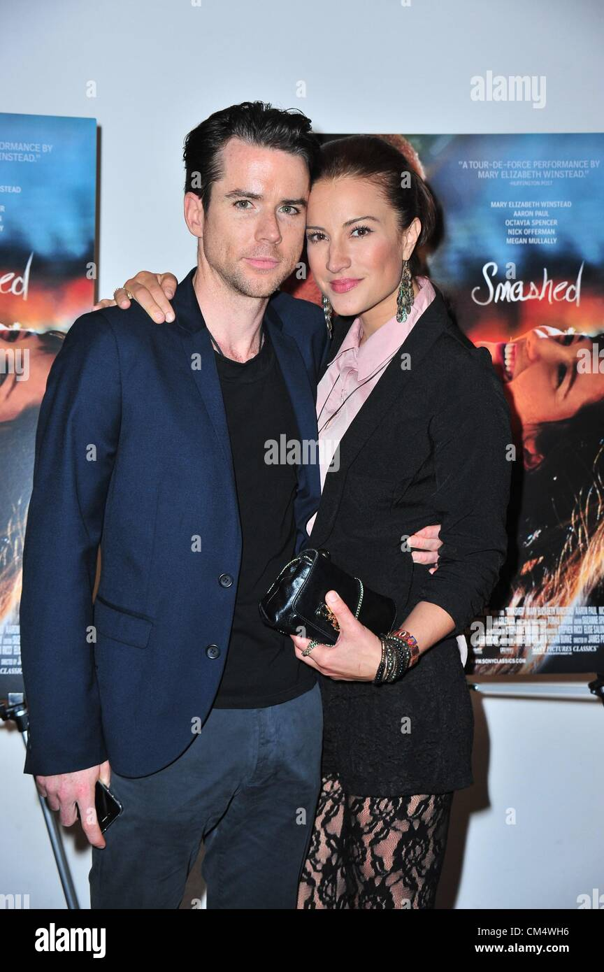 Christian Campbell America Olivo At Arrivals For SMASHED Premiere - Christian museums in the usa