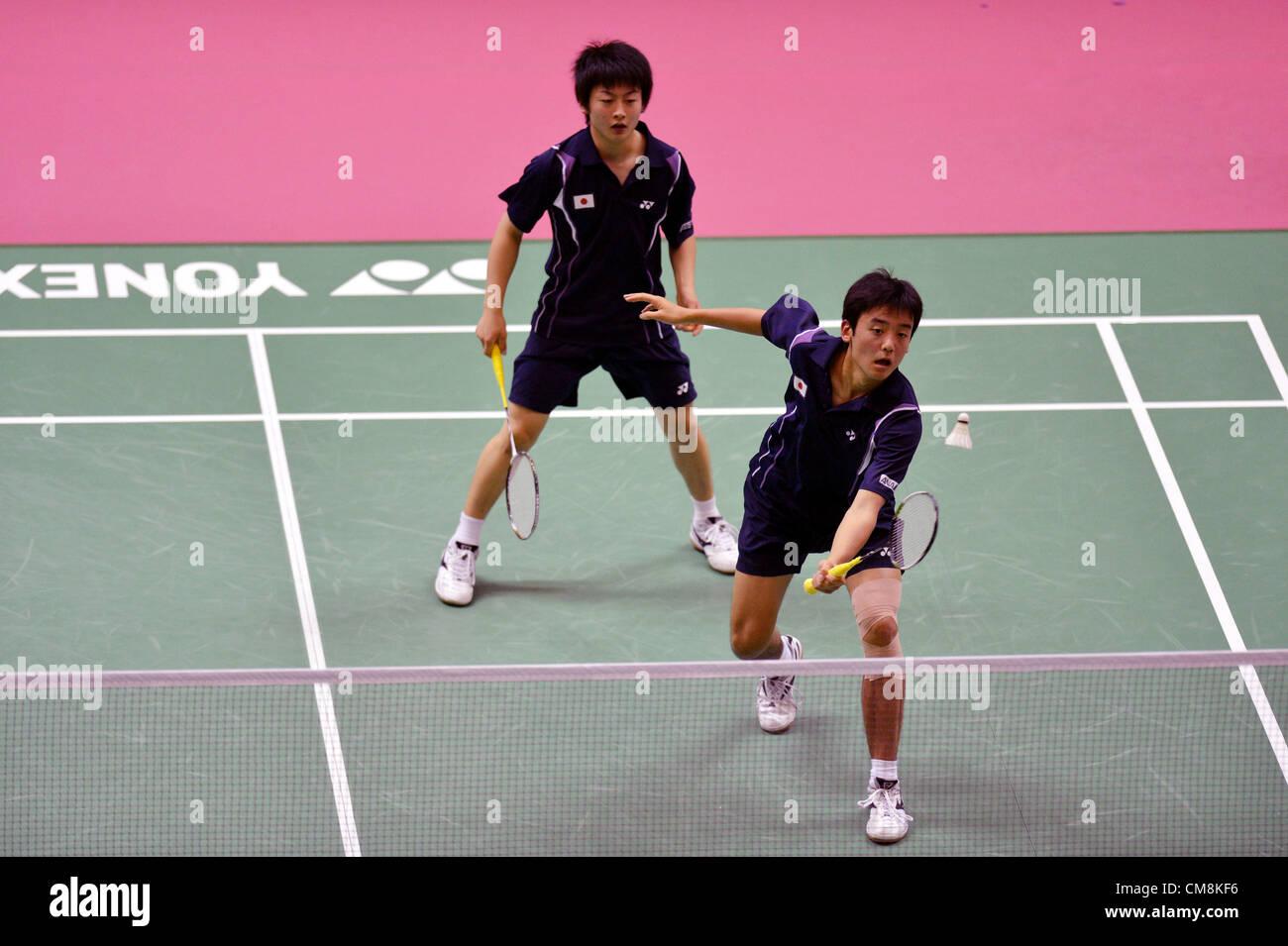 L to R Takuto Inoue JPN Yuki Kaneko JPN OCTOBER 28 2012