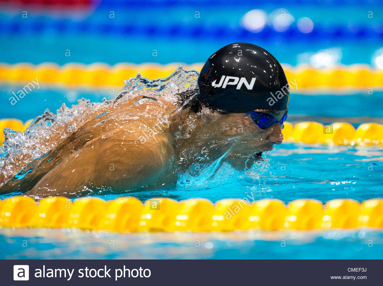 matsuda takeshi of japan competes in the men u0027s 200m butterfly