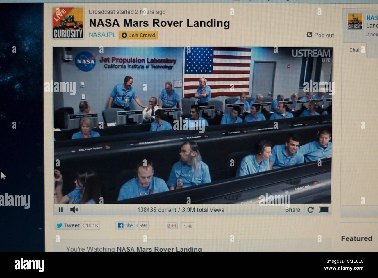nasa live stream of mars landing - photo #34