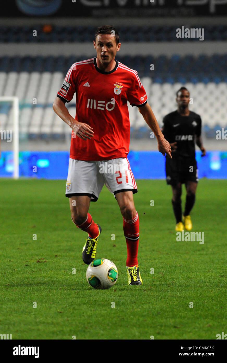 Sport Lisboa e Benfica Serbian midfielder Nemanja Matic during a