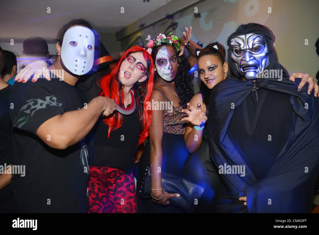 London UK 1st Nov 2013 : Halloween party at Camden Town came to ...