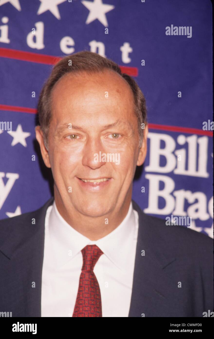BILL BRADLEY Sen Patrick Moynihan endorses Bill Bradley for Stock