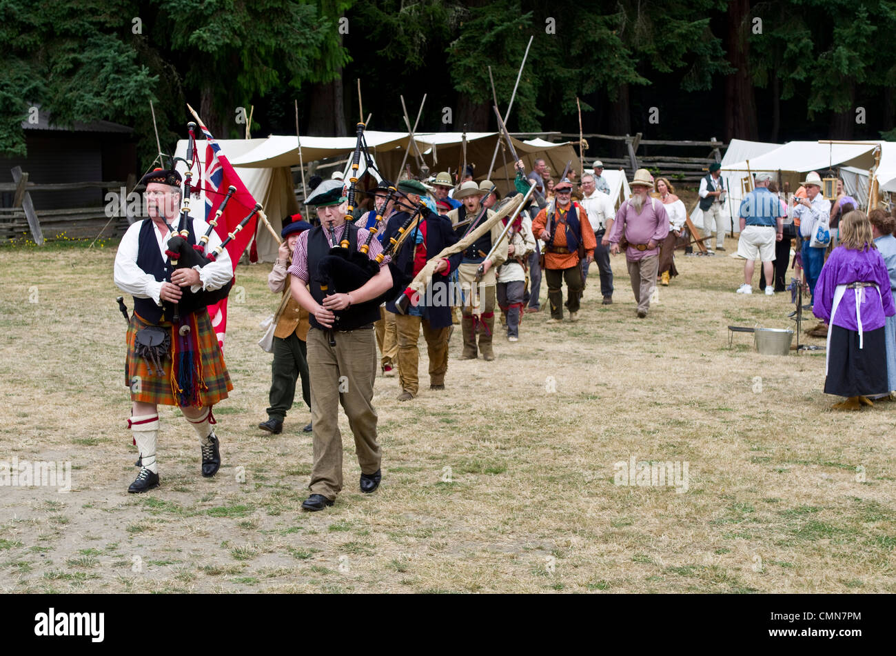 USA Washington Tacoma Fort Nisqually Living History Museum - Historical museums in usa
