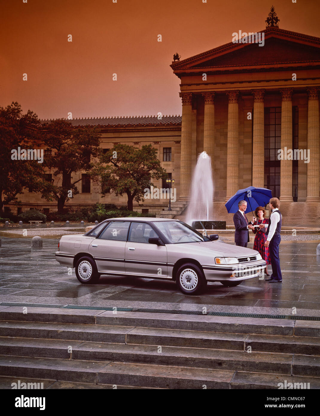Subaru In Front Of Philadelphia Museum Of Art Stock Photo Royalty - Subaru philadelphia