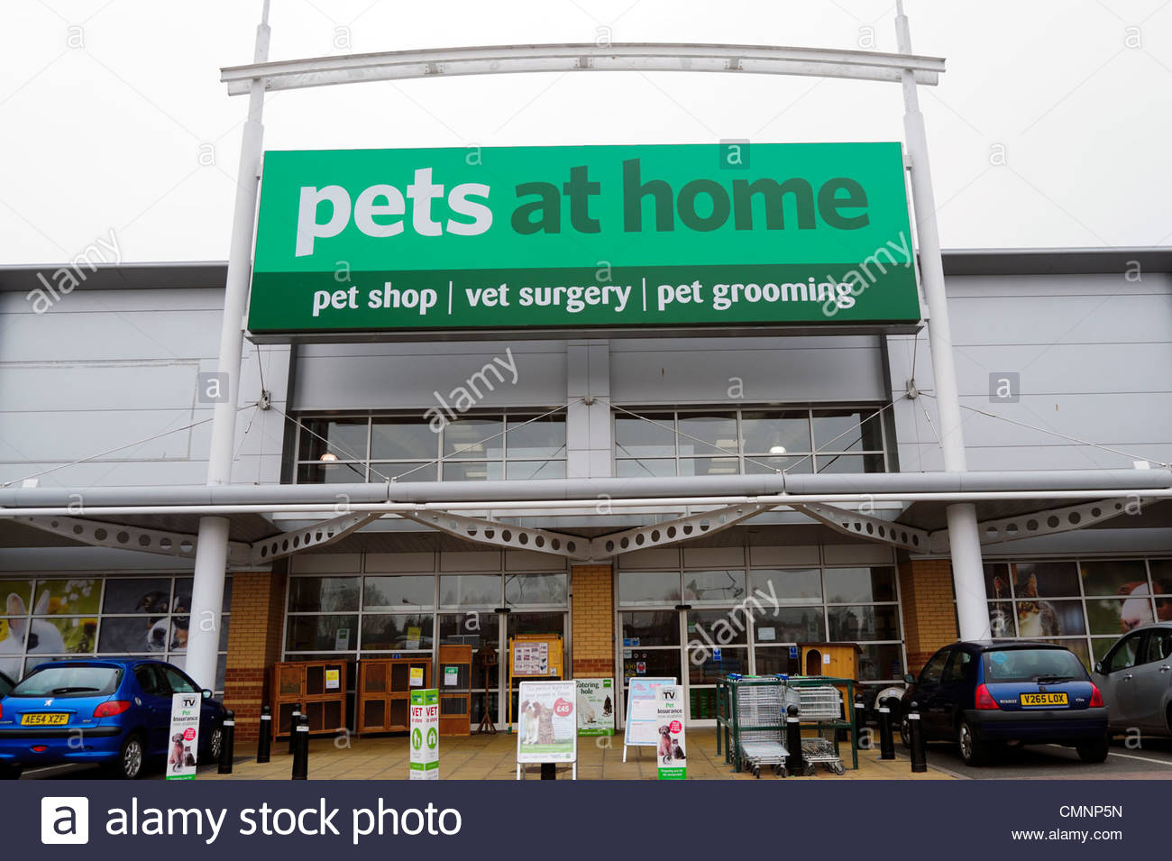 Pets at home shop in kidderminster uk stock photo Shop at home