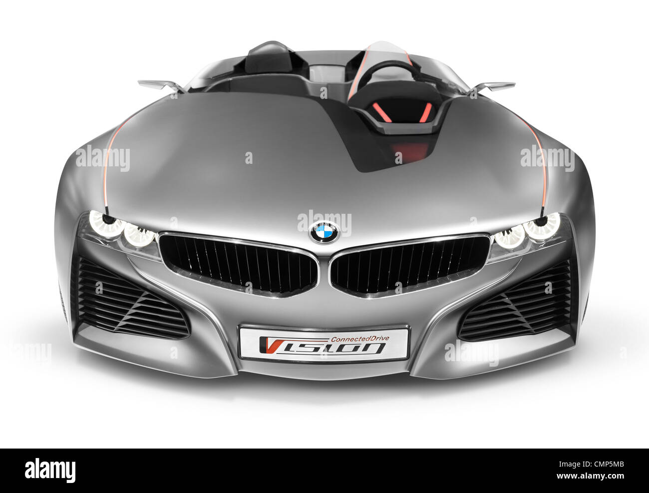 BMW Vision ConnectedDrive Concept Sports Car Front View - Sports cars 2012