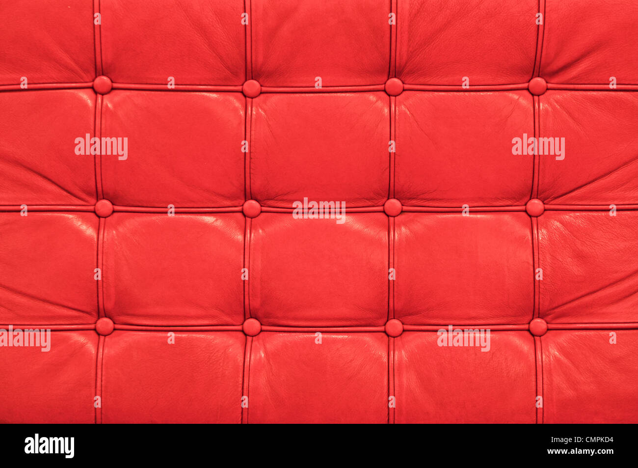 stock photo vintage red leather sofa texture