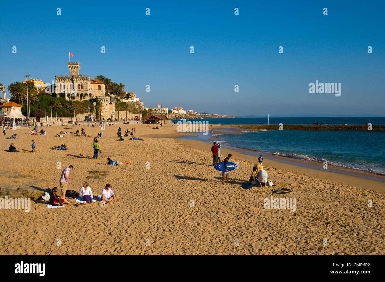 praia do tamariz estoril coastal resort near lisbon