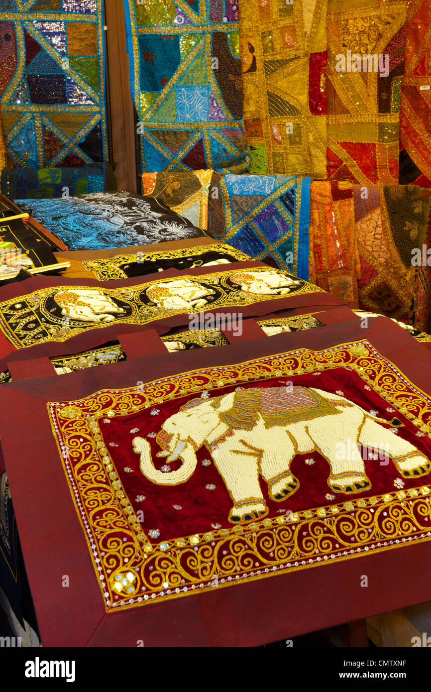Sri Lanka   Kandy  shop with decorative materials  art deco  popular art  souvenirs from Sri Lanka. Sri Lanka   Kandy  shop with decorative materials  art deco