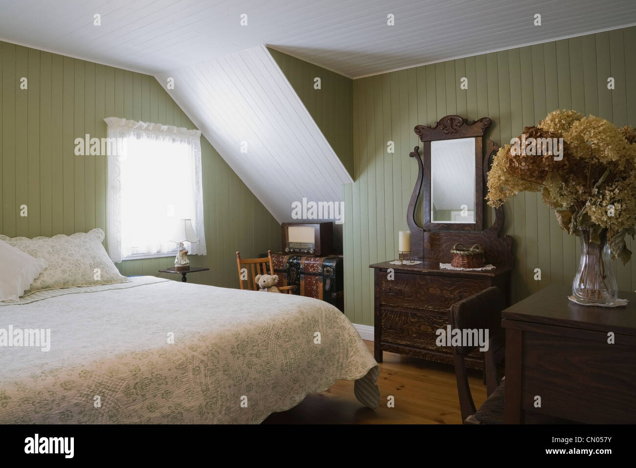 Quebec Bedroom Furniture Guest Bedroom Of 19th Century Cottage Style Home Quebec Canada