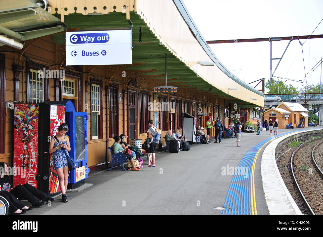 Katoomba train station