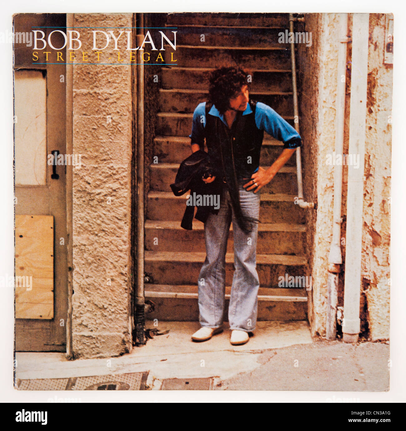 Cover of vinyl album Street Legal by Bob Dylan, released 1978 on ...