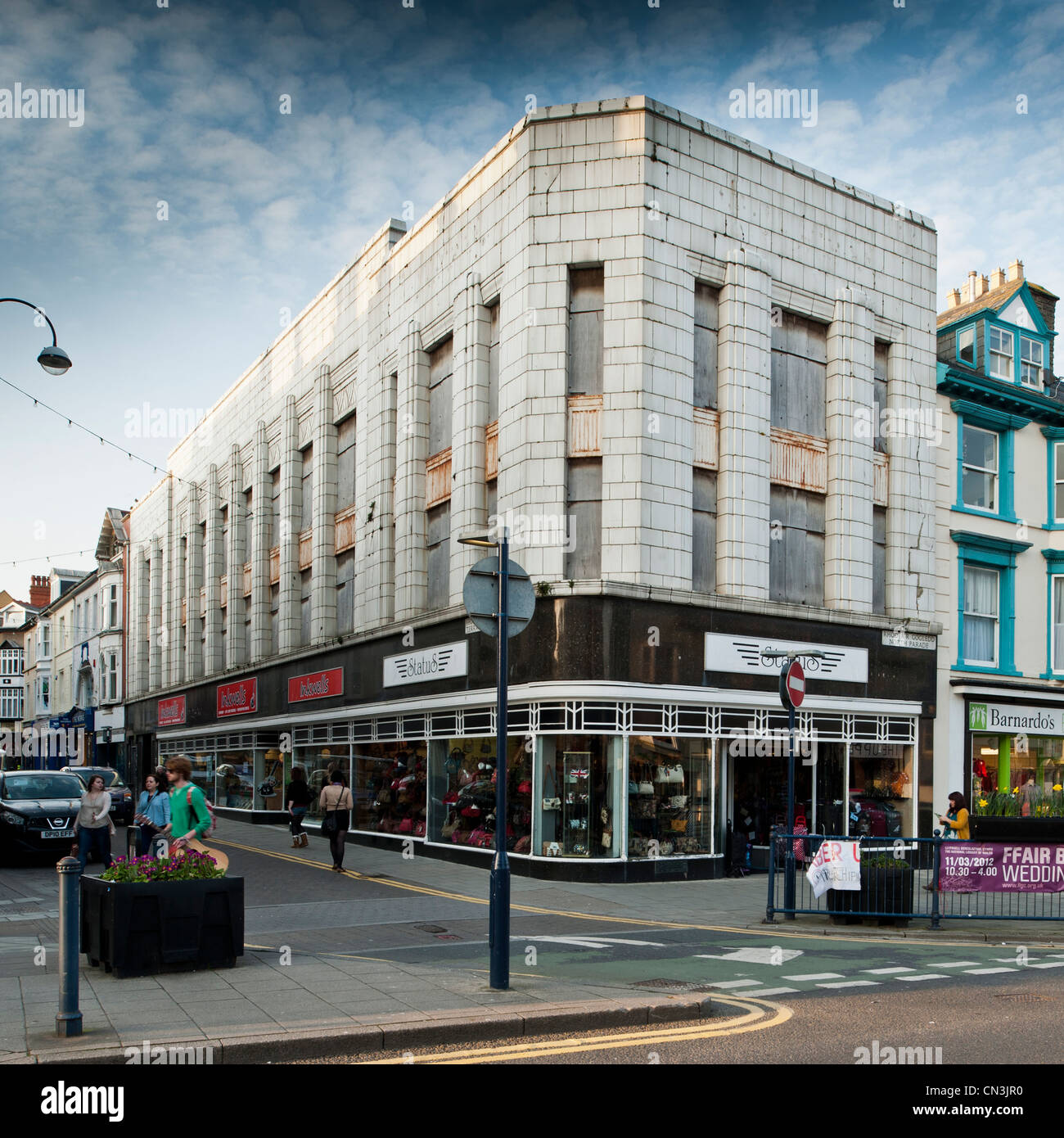 Exterior The Old Burtons Building Classic 1930 39 S Architecture Stock Photo Royalty Free Image