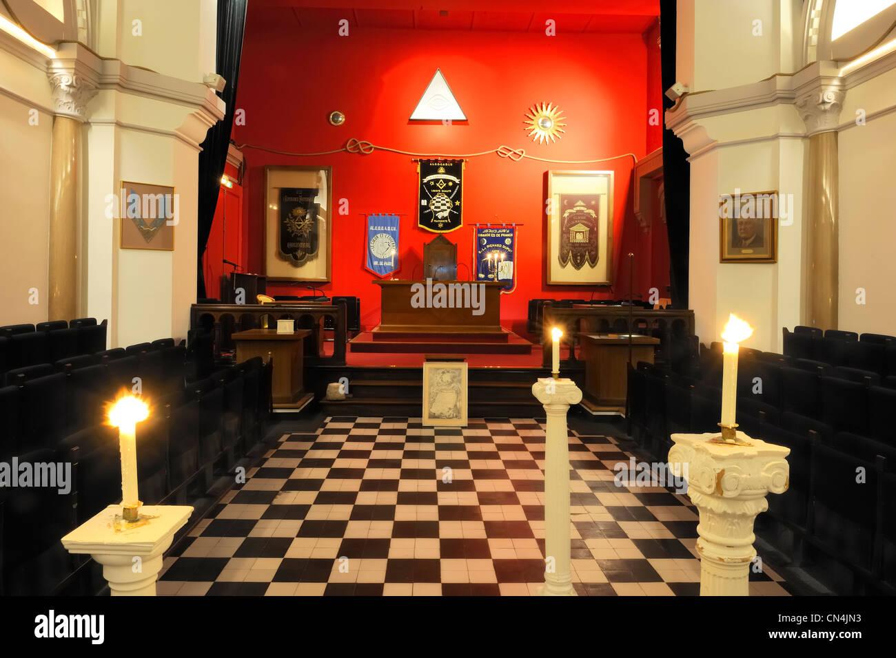 France paris grande loge de france gldf grand lodge of for Lodges in france