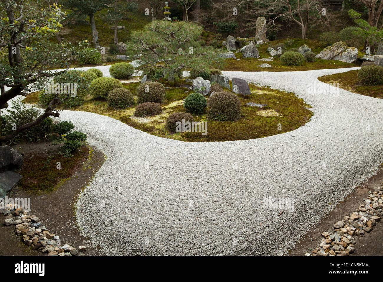 Manshu In Is A Karesansui Zen Garden Containing A Pinus Pentaphylla Tree,  Now About