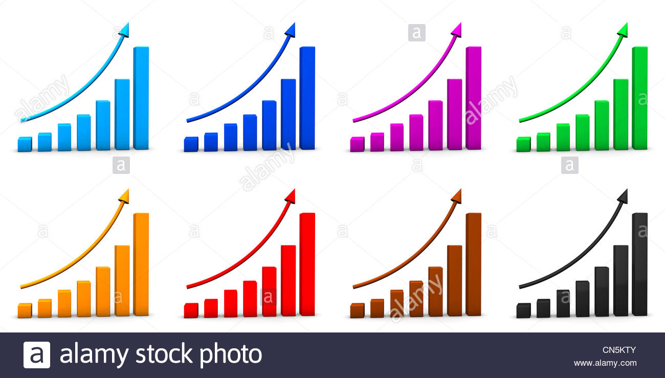 Eight multi colored chart icons on the white background stock eight multi colored chart icons on the white background nvjuhfo Image collections