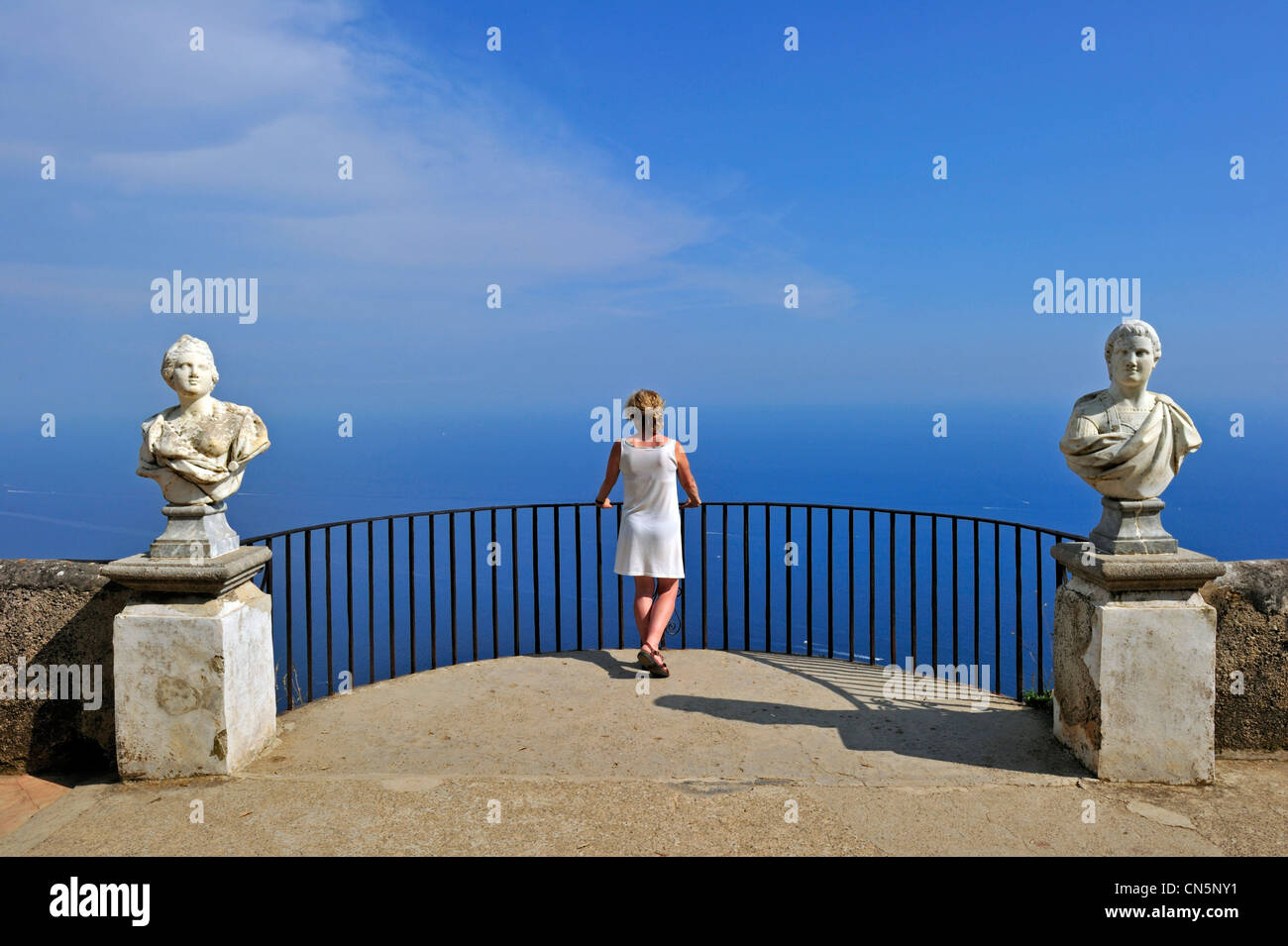 Italy, Campania, Amalfi Coast, listed as World Heritage by UNESCO ...