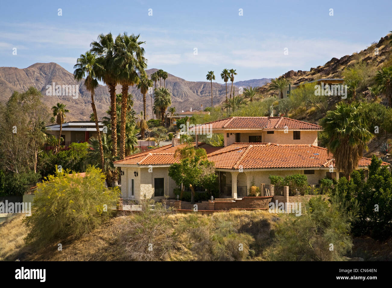 Expensive California Mission Architecture Homes In Palm Springs